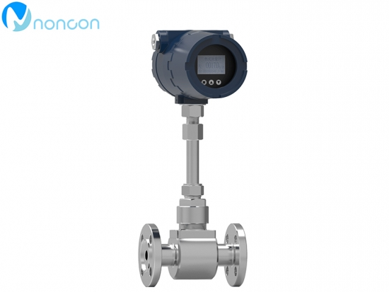 NONCON thermal gas mass flow meter